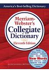 Merriam-Webster's Collegiate Dictionary, 11th Ed. Indexed [With CDROM]