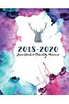 2018-2020 Year Goals and Monthly Planner: Nature Power 30 Months Calendar Yearly Goals Monthly Task Checklist