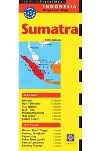 Sumatra & Medan Travel Map Fifth Edition (Periplus Travel Maps)