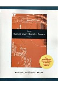 Business Driven Information System