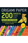 Origami Paper 200 Sheets Nature Patterns 6 inches 15 cm : Photographic Designs from Nature