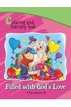 1 Corinthians 13 Coloring and Activity Book Book: Filled with God's Love