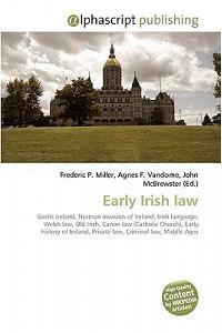Early Irish Law