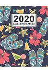 2020 Calendar Planner: Beach Daily Weekly Monthly Calendar 2020 Planner - January 2020 to December 2020