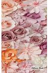 Address Book: 5 X 8, Blank Address Book, Contacts, Addresses, Durable Cover, 100 Pages, Floral (14)