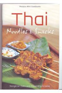 Periplus Mini Cookbooks - Thai Noodles & Snacks
