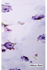 Address Book: 5 X 8, Blank Address Book, Contacts, Addresses, Durable Cover, 100 Pages, Floral (7)