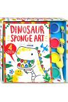 Sponge Art Dinosaur