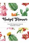 Budget Planner: Cactus Large Budget Planner, (8.5x11 Inches): Expense Tracker for 24 Months