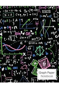 Graph Paper Notebook: Quad Ruled 4x4 Math and Science Squares Graphing Paper for Students Vol.3