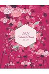 2021 Calendar Planner 8.5 X 11: Flowers Pink Color, Daily Calendar Book 2021, Weekly/Monthly/Yearly Calendar Journal, Large 8.5