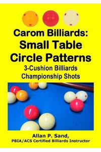Carom Billiards: Small Table Circle Patterns: 3-Cushion Billiards Championship Shots