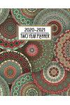 2020 - 2021 Two Year Planner: Colorful Mandala Crystal Pattern Daily Weekly Monthly 2020 - 2021 Planner Organizer. Nifty Two Year Motivational Agend