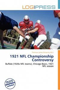 1921 NFL Championship Controversy
