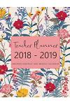 2018 - 2019 Teacher Planner Undated Monthly and Weekly Calendar: Teacher Academic Planner, Lesson Planner, Classroom Roster, Goal Setting, Yearly Mont