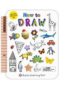 How to Draw: Includes Wipe-Clean Pen