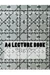 A4 Lecture Book 150 Lined Pages 8.5 X 11: Pattern Design