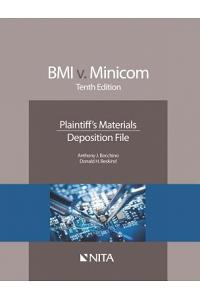 BMI v. Minicom: Plaintiff's Materials, Deposition File