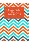 Five Year Planner 2019-2023: Beauty Colorful Book, Five Year Planner Monthly Schedule Organizer 2019-2023, 60 Months Planner Large Printed 8.5
