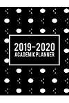 2019-2020 Academic Planner: Art Black Book, 8.5