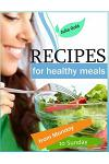 Recipes for healthy meals from Monday to Sunday