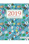 2019 Calendar Planner: Daily Weekly and Monthly Calendar Planner - January 2019 to December 2019 for to Do List Planners and Academic Agenda