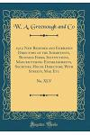 1912 New Bedford and Fairhaven Directory of the Inhabitants, Business Firms, Institutions, Manufacturing Establishments, Societies, House Directory, w