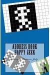 Address Book Happy Geek: Address / Telephone / E-mail / Birthday / Web Address / Log in / Password / Geek 9