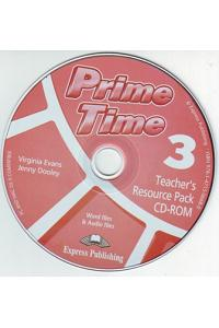 PRIME TIME 3 TEACHER'S RESOURCE PACK & TESTS CD-ROM