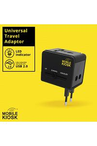 WG-001 UNIVERSAL ADAPTOR 2 USB/2.1 A