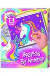 Unicorn Sparkle by Number