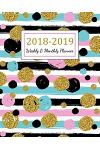 2018 - 2019 Weekly & Monthly Planner: 2018 - 2019 Two Year Planner - Daily Weekly and Monthly Calendar - Agenda Schedule Organizer Logbook and Journal