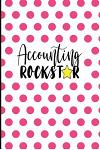 Accounting Rockstar: Bookkeeper Gifts, Accountant Gifts Women, Bookkeeping Gifts, Bookkeeping Notebook Journal, 6x9 College Ruled Notebook