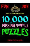 10,000 Missing Vowels Puzzles