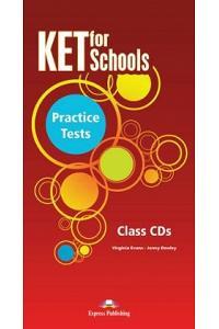 KET FOR SCHOOLS PRACTICE TESTS CLASS CDS SET OF 5