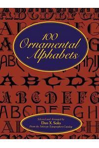 100 Ornamental Alphabets