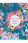 2019-2021 Academic Planner: Colorful Art Flowers, 8.5 X 11 Three Year Planner Academic 2019-2021 Calendar Notebook (36 Months Calendar Planner)