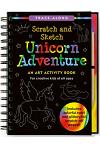 Scratch & Sketch Unicorn Adventure: An Art Activity Book for Creative Kids of All Ages [With Pens/Pencils]