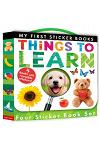 My First Sticker Book Set: Things to Learn