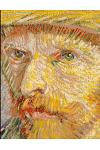 2019 Daily Planner: Full 365 Day Goal-Oriented Daily Planner Van Gogh Self Portrait Great Gift for the Art Lover 8.5x11 Activity Priority