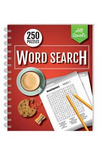 250 Puzzles: Wordsearch All Levels (wire-bound)