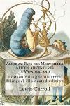 Alice Au Pays Des Merveilles / Alice's Adventures in Wonderland: Edition Bilingue Illustree Francais-Anglais / Bilingual Illustrated Edition French-En