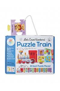 Let's Count Numbers Puzzle Train