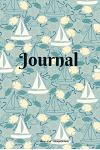Journal: Nautical Sailing Pattern - Soft Cover Journal - 6 x 9 inch - 100 pages (50 Sheets)