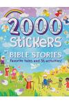 2000 Stickers Bible Stories: Favorite Tales and 36 Activities!