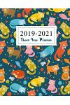 2019-2021 Three Year Planner: Cat Cute Cover 36 Months Calendar Academic Planner January 2019 to December 2021 Organizer Agenda for the Next Three Y