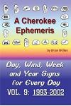 A Cherokee Ephemeris 9: Calculating Your Cherokee Calendar Birth Date