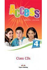ACCESS 4 CLASS CDs (SET OF 5) (INTERNATIONAL)