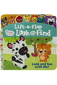 Baby Einstein - Look and See with Me! Lift-a-Flap Look and Find Board Book - PI Kids