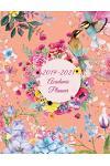 2019-2021 Academic Planner: Water Color Flowers, 8.5 X 11 Three Year Planner Academic 2019-2021 Calendar Notebook (36 Months Calendar Planner)